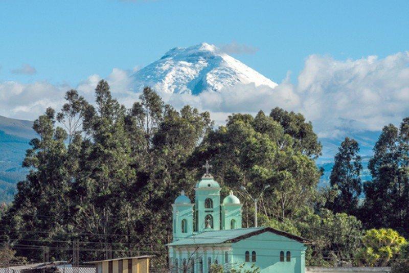 El volcán Cotopaxi, en Ecuador. #shu#