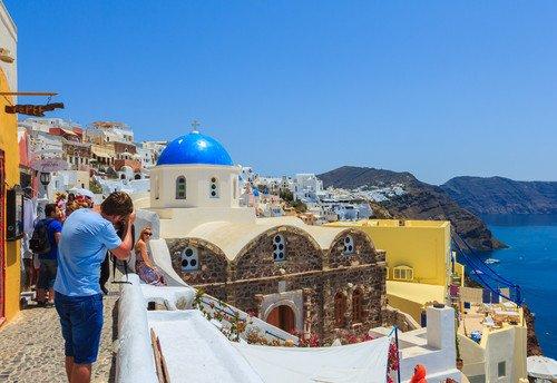 Grecia recibió más de 7,5 millones de turistas internacionales hasta junio. #shu#