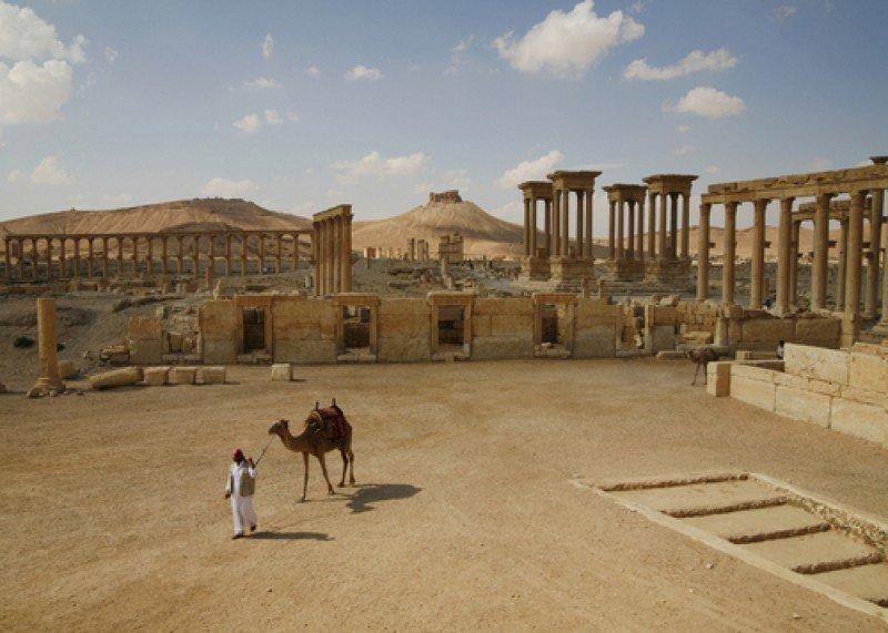 Las ruinas de Palmira, Siria. #shu#