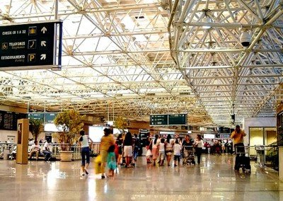 Aeropuerto de Río de Janeiro.