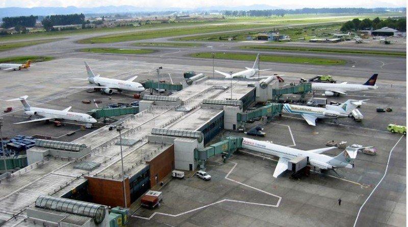 Aeropuerto de Bogotá (Colombia).