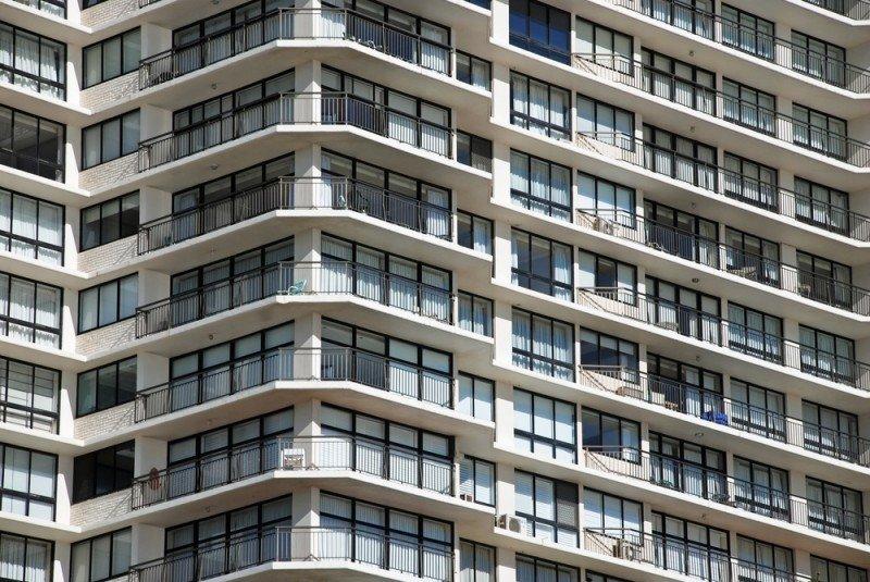 En apartamentos subieron un 6%. #shu#