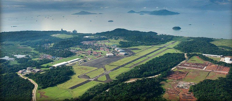 Aeropuerto Panamá Pacífico.