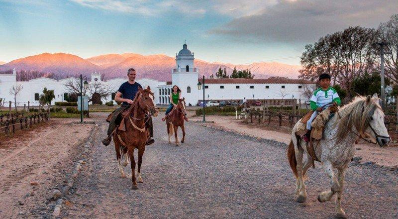 Cerca de 900.000 turistas visitaron Salta el primer semestre. (Foto: Patios de Cafayate).