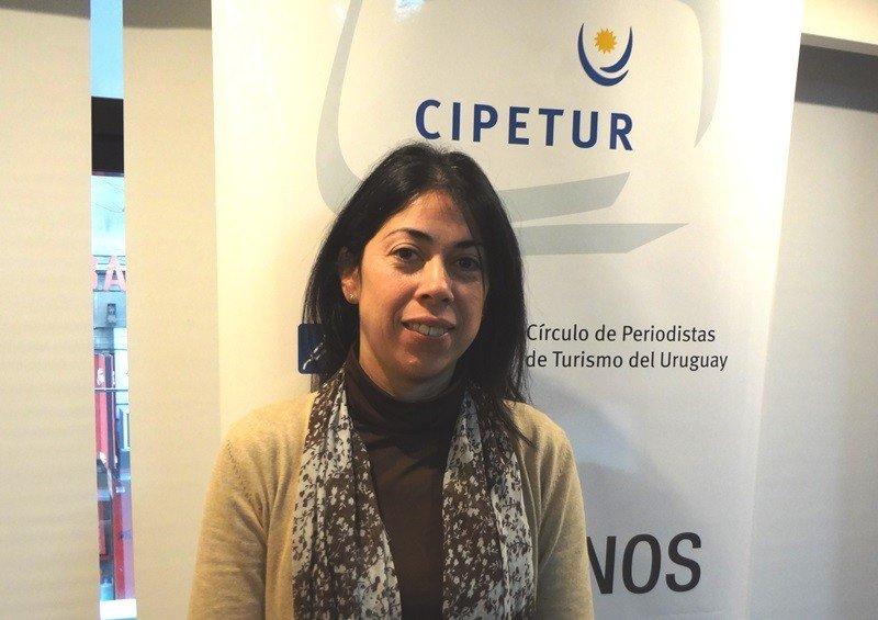 Ximena Acosta, directora de Turismo de la Intendencia de Canelones.