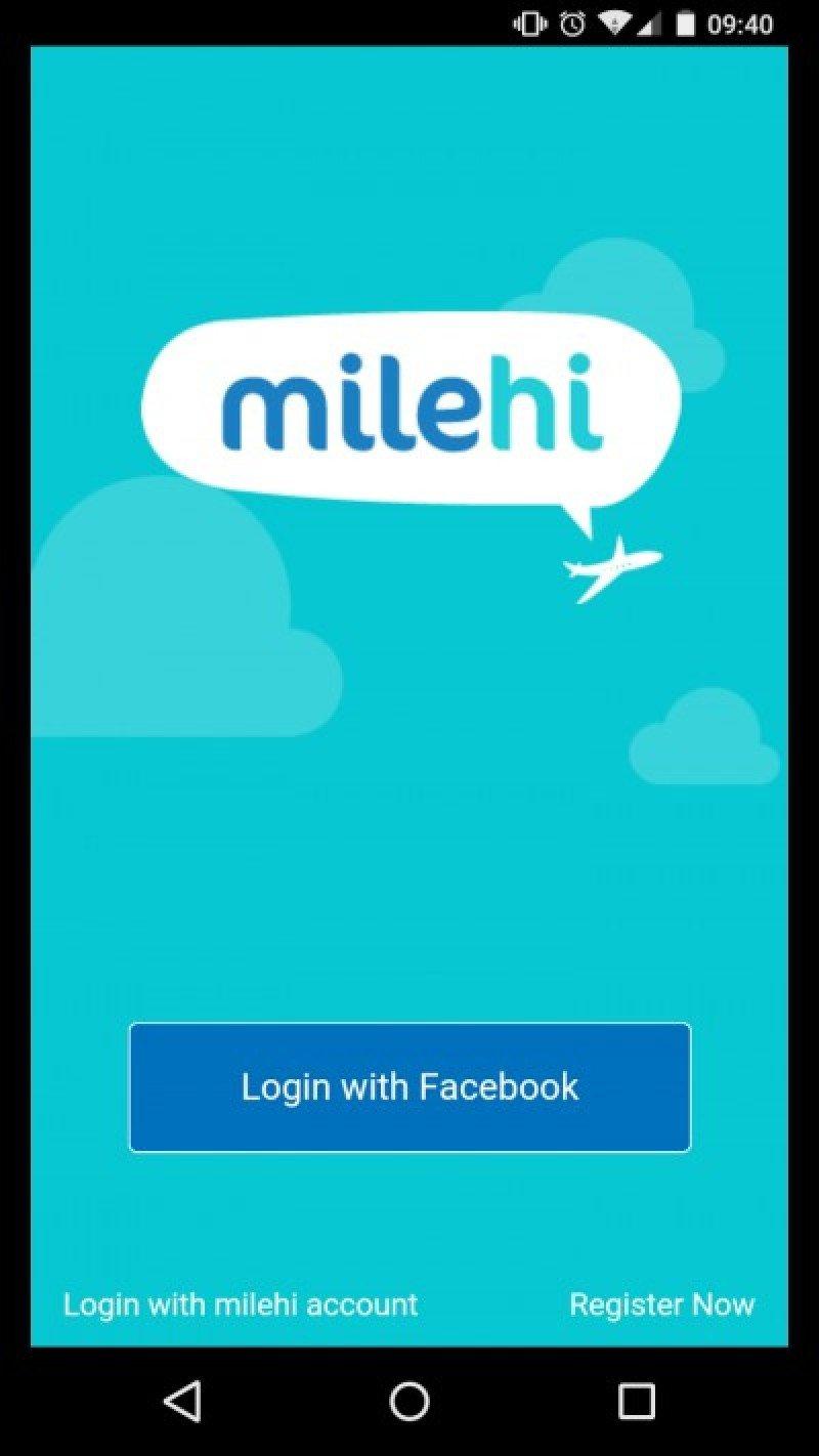 Aplicación móvil facilita encuentros entre desconocidos en vuelos