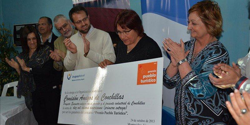 Conchillas fue el pueblo ganador en la primera edición del premio