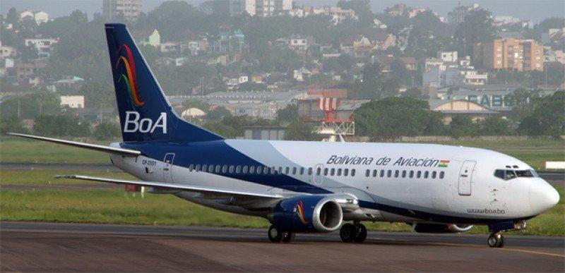 Boliviana de Aviación aumenta frecuencias entre Salta y Santa Cruz de la Sierra.