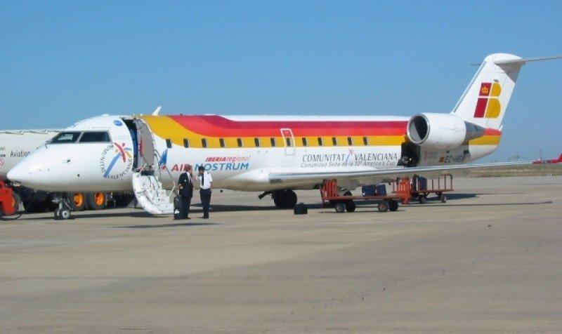 Bombardier CRJ 200 de Air Nostrum.