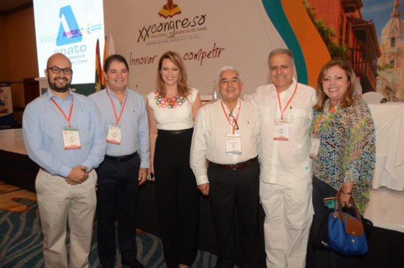 Inauguración del XX Congreso Nacional de Agencias de Viajes de Colombia.