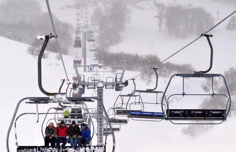 Temporada de invierno deja US$  69,6 millones en Neuquén.