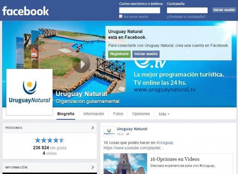Estrategia digital permite a Uruguay promover turismo en todos los mercados