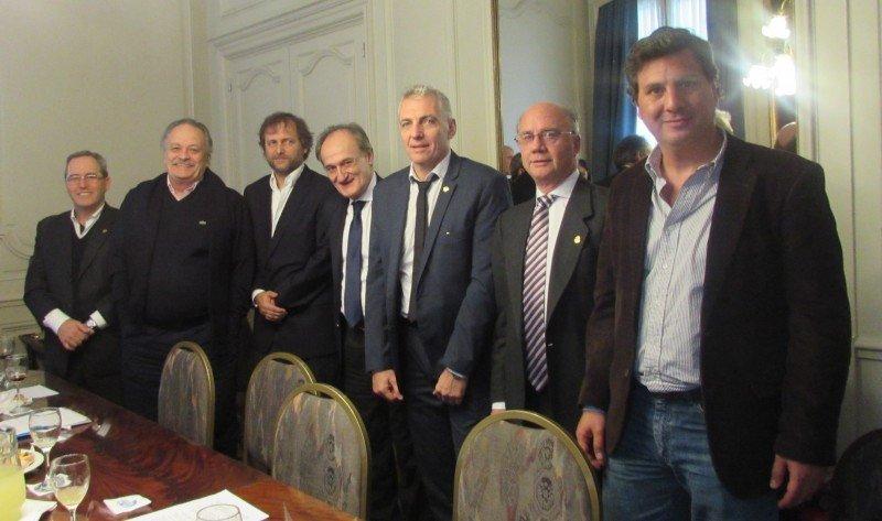 Coordinadores regionales de FEHGRA.