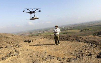 Perú incorpora drones para conservar su riqueza arqueológica. (Foto: Reuters).