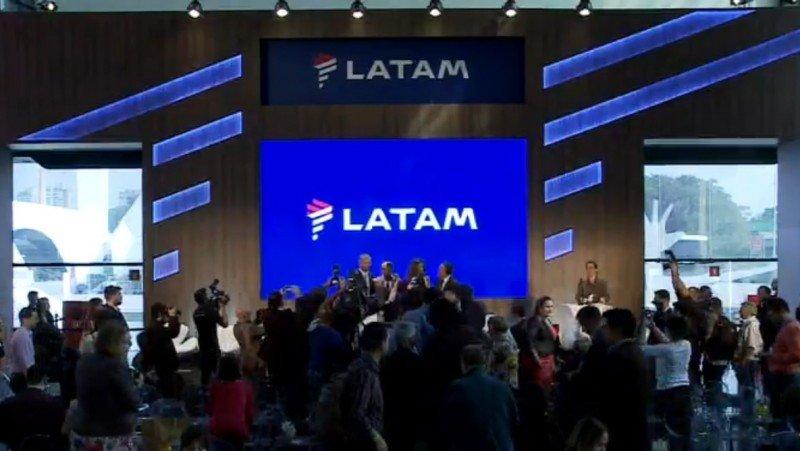 Presentación de la nueva marca que unifica a LAN y TAM en LATAM desde 2016.