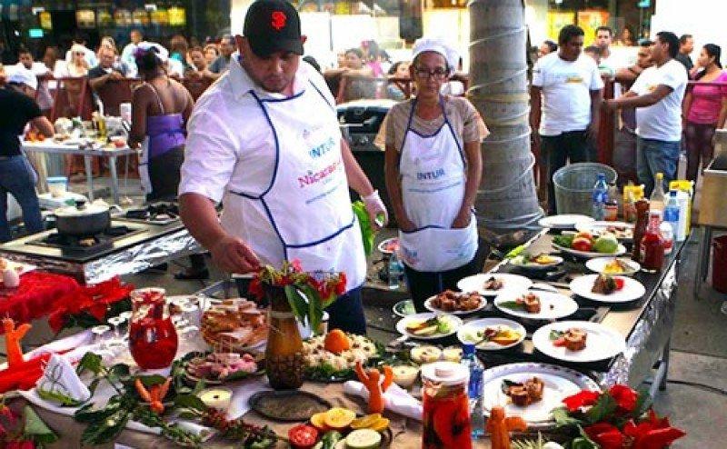 Concurso Gastronómico organizado por INTUR. Foto: Archivo
