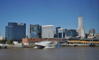 El 94,4% de los turistas arribados al Puerto de Buenos Aires llegó de Uruguay.