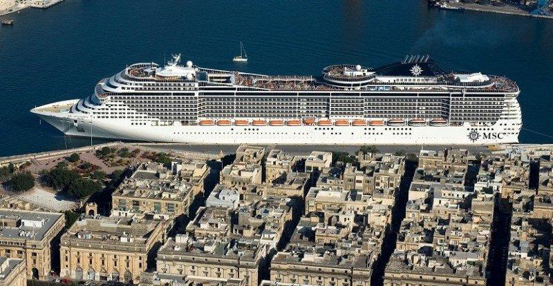 El MSC Splendida llegará este verano a los puertos del Río de la Plata.