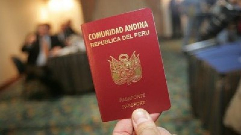 Perú emitirá en diciembre pasaportes electrónicos para ingresar a la Unión Europea.