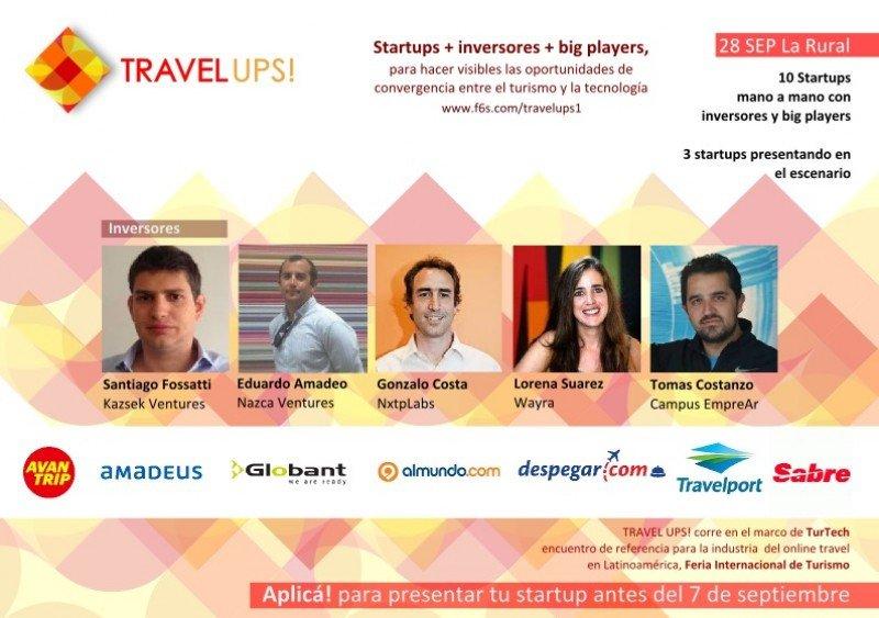 Travel-ups!, una oportunidad para startups de tecnología aplicada al turismo