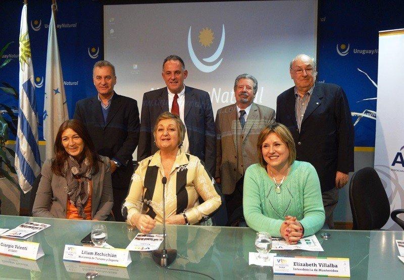 Lanzamiento de la feria VTN 2015 en el Ministerio de Turismo.