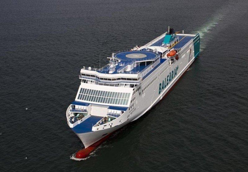 Baleària invierte 350 M € en dos ferries propulsados a gas natural, los primeros en España