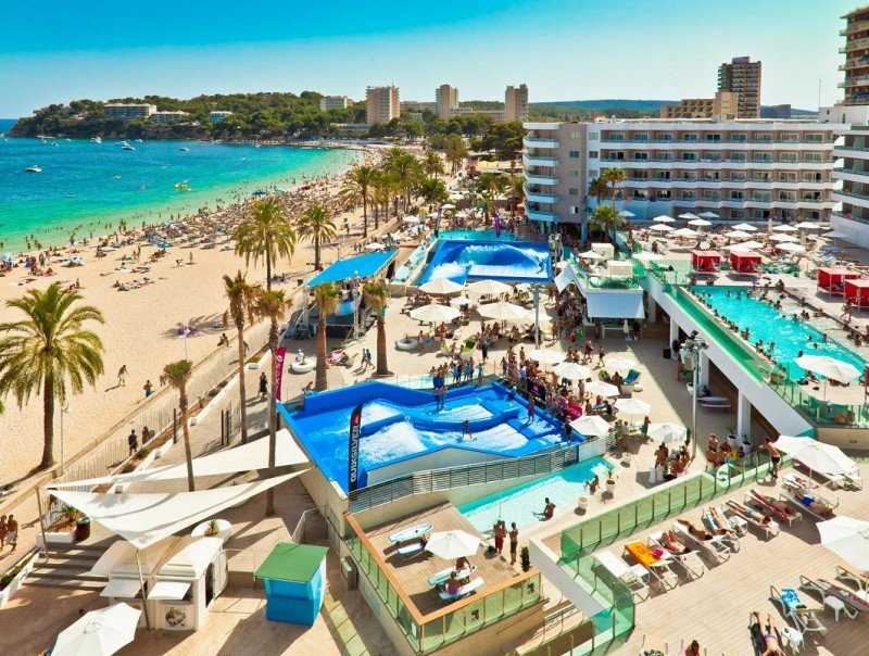 El Sol Wave House es uno de los 11 hoteles que integran el proyecto de Meliá Calviá Beach.