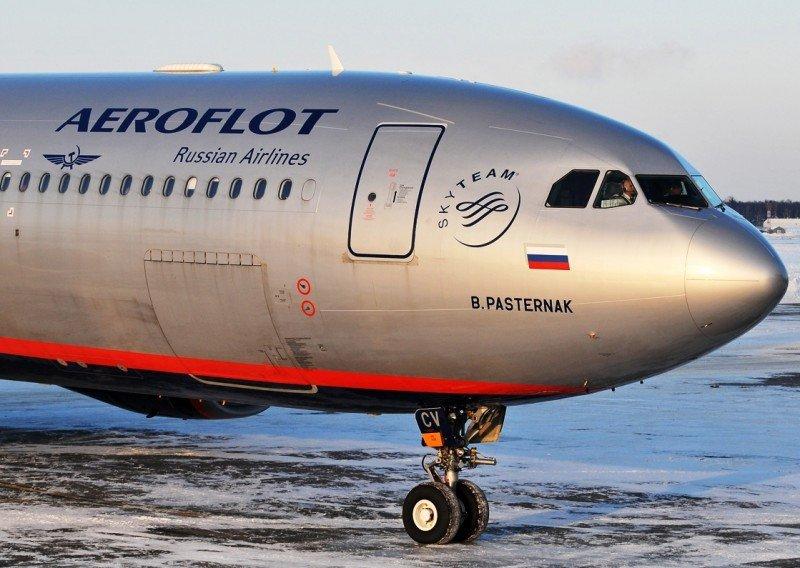 Aeroflot compra su principal rival rusa Transaero por sólo 1 rublo (Foto: Dmirty Petrov/planespotters.net).