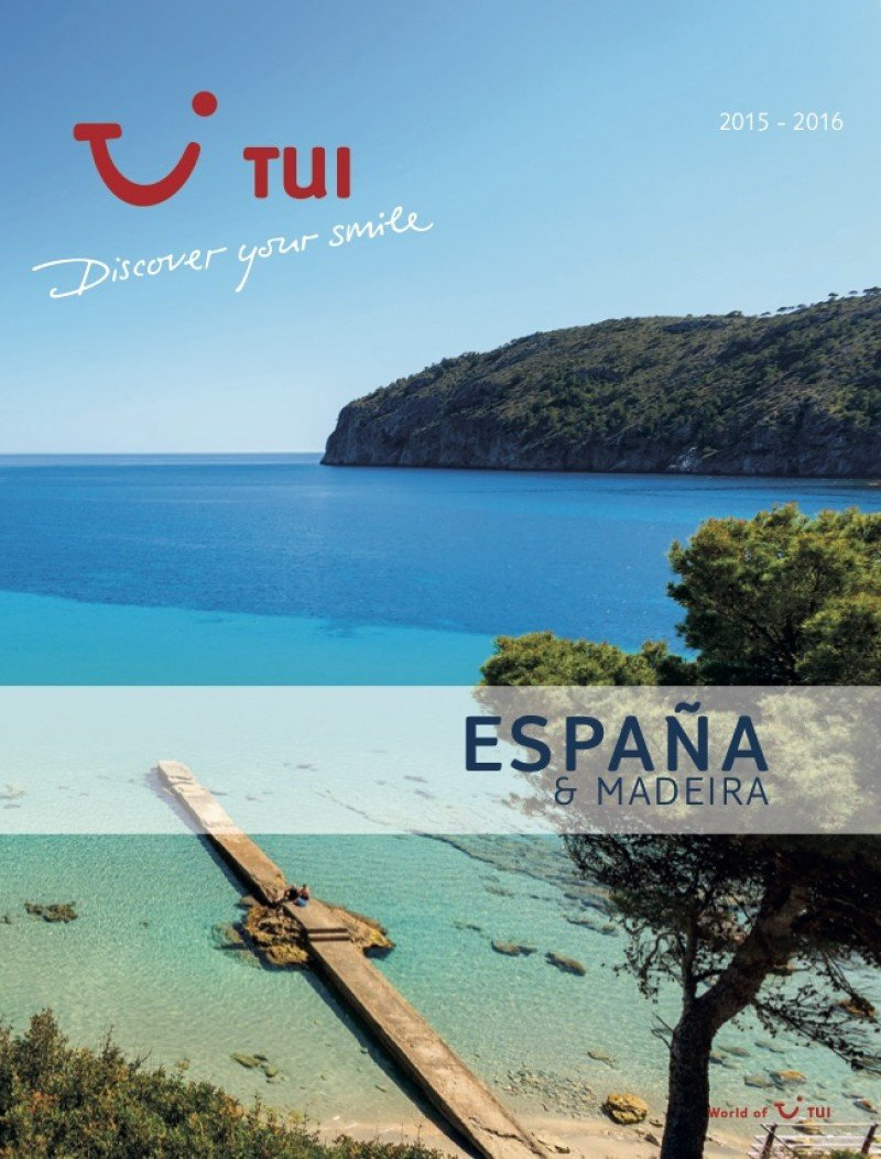 TUI Spain edita por primera vez su catálogo para España y Madeira