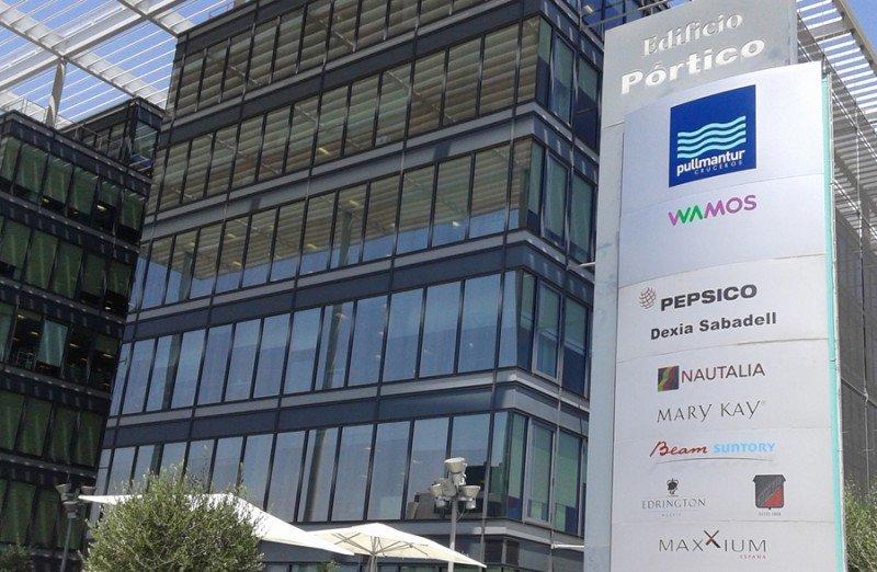 Edificio Pórtico (Madrid), sede de Wamos.