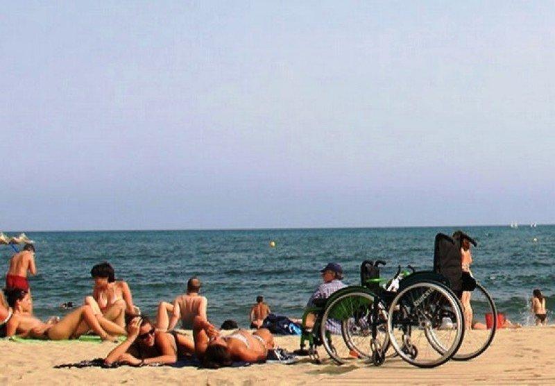 Turismo accesible, también en las playas.