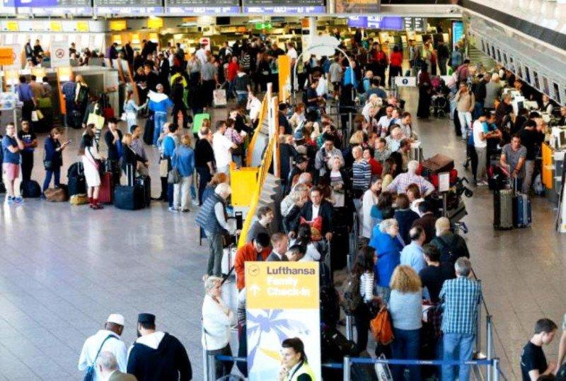 Un juez ordena el cese de la huelga en Lufthansa (Foto AP).