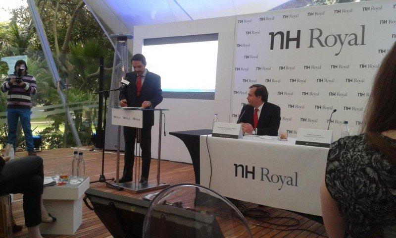 Lanzamiento de NH Royal en Bogotá.