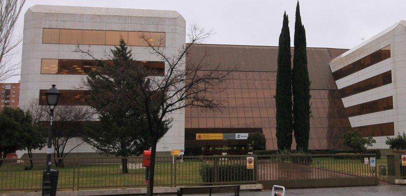 Sede central del Imserso, Madrid.