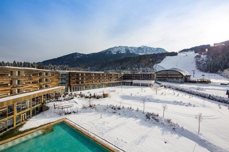 En la imagen el Falkensteiner Hotel and Spa Carinzia.