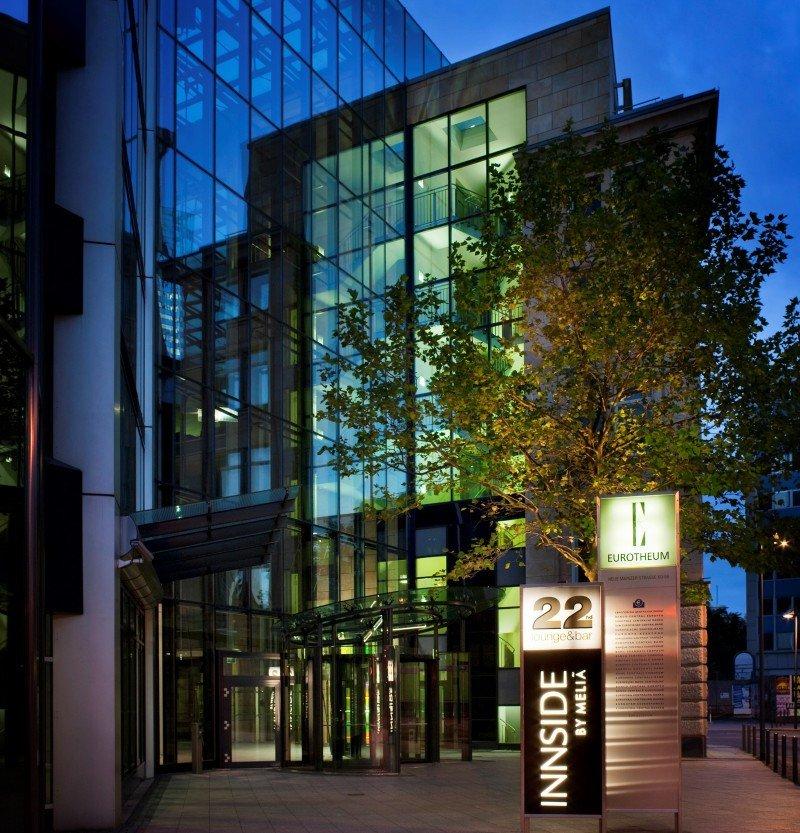 Innside Frankfurt Eurotheum. La cadena tiene cinco hoteles en la ciudad.
