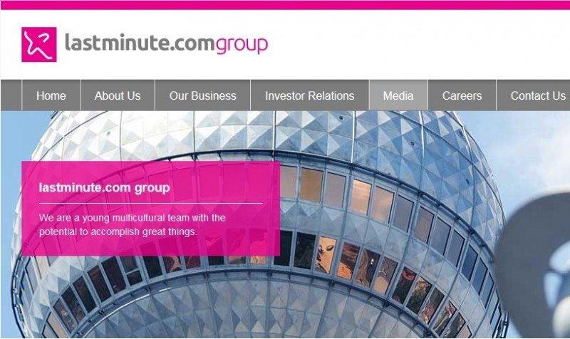 Lastminute.com Group facturó un 70% más en la primera mitad de 2015