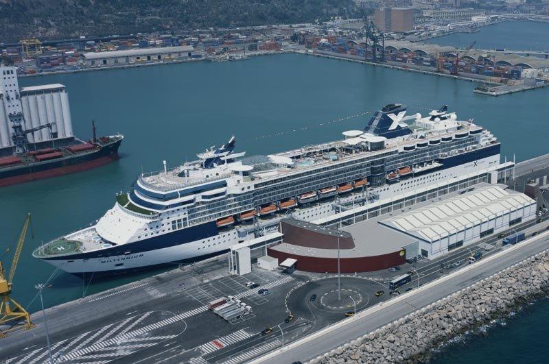 Barcelona acumula un 7% de subida en el número de cruceristas hasta agosto