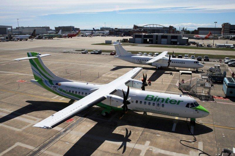 Binter recibe el primero de sus nuevos aviones ATR 72-600