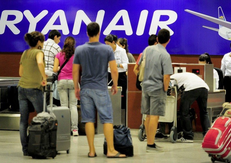 Medidas legales contra Ryanair, según anuncia Aviación Civil del Reino Unido