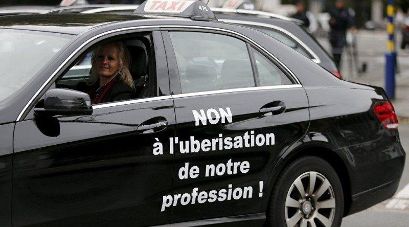 Uber tiene un plazo de tres semanas para suspender UberPOP en Bruselas foto: ©REUTERS/ Francois Lenoir, publicada en de Sputniknews).