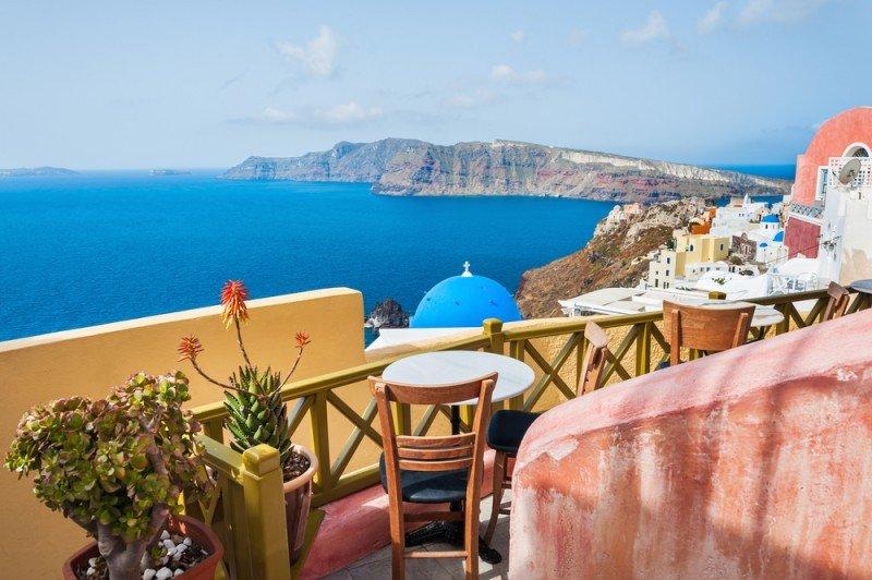 Los hoteles de Grecia se han salvado gracias a las reservas anticipadas. #shu#