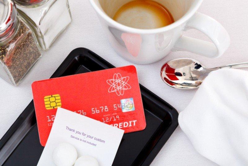 Más de 90% del gasto en restaurantes es con tarjeta de crédito. #shu#