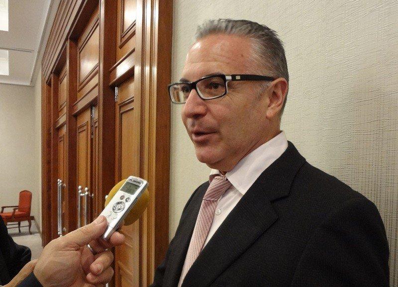 Daniel Chavarría, presidente de Pro Imagen de Costa Rica, en Montevideo.