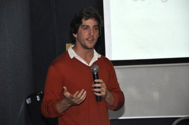 Tomás Bermudez, Co-Fundador de CookApp. (Foto: Universidad de Palermo)