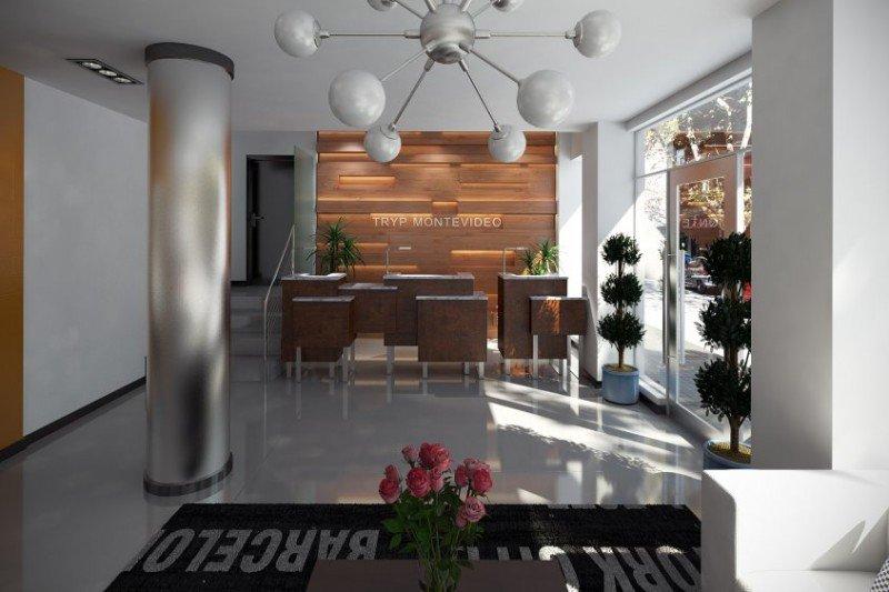 Proyecto del hotel Tryp Privilege de Montevideo.
