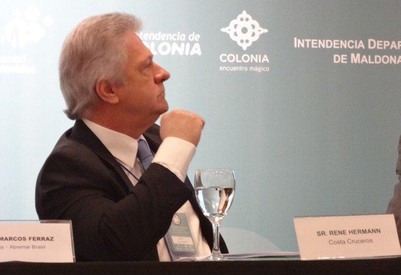 Rene Hermann, director de Costa Cruceros para Sudamérica.