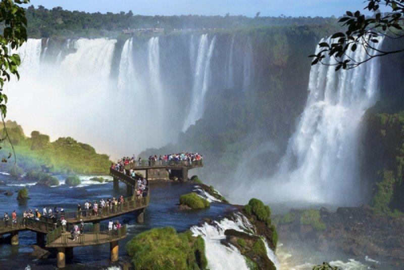 Los operadores paraguayos esperan aprovechar mejor el circuito de las Cataratas del Iguazú. #shu#