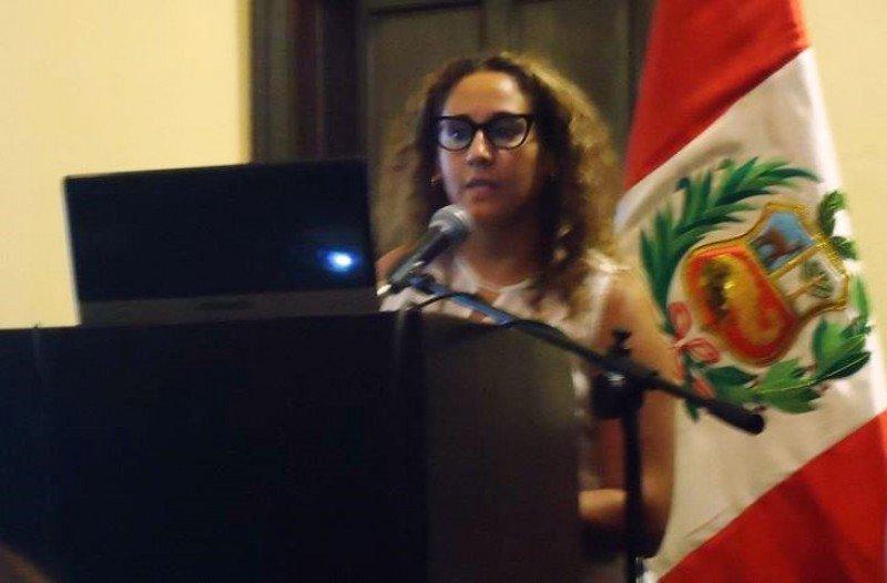 Rocío Lombardi, directora de la carrera de Turismo Sostenible de la Universidad Ruiz de Montoya (Lima, Perú)