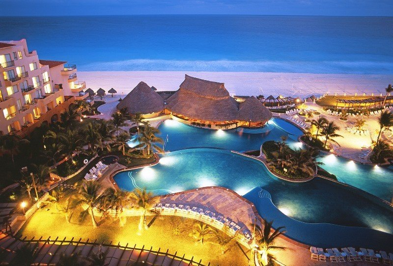 Hotel Fiesta Americana Condesa Cancún.